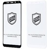 Защитное стекло Full Glue HQ на Xiaomi Redmi 5 Plus (2 цвета)