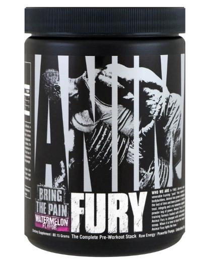 Предтренировочники, NO Universal Animal FURY 80 g