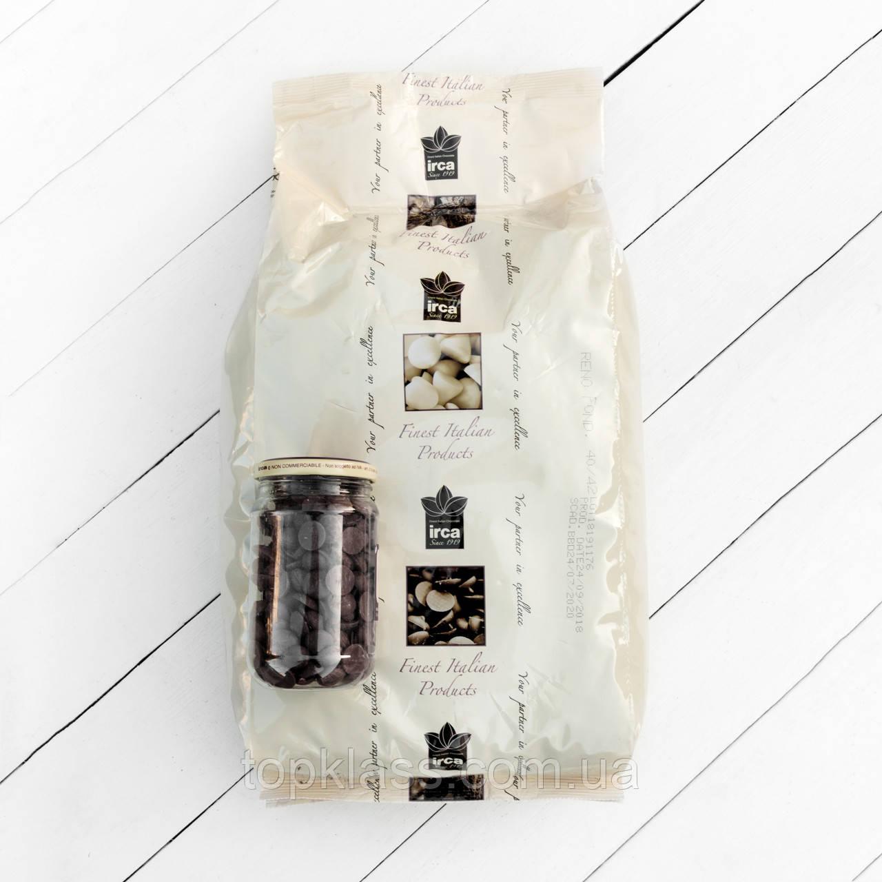Чорний гіркий шоколад RENO FONDENTE 72%, Irca, Італія 1кг