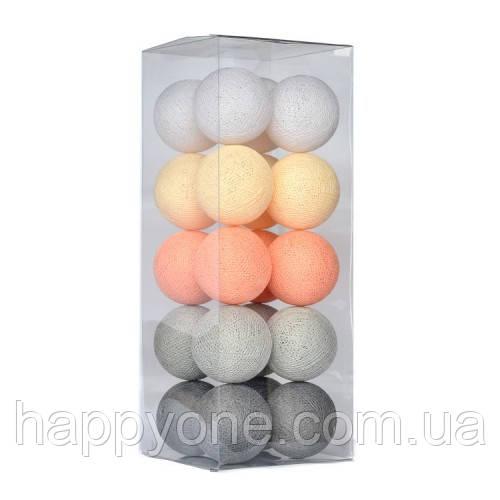 "Тайская LED-гирлянда ""Stone pearls"" (35 шариков)"