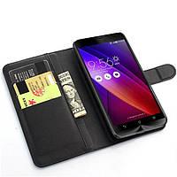 Чохол-книжка Litchie Wallet для Asus Zenfone 2 (ZE551ML / ZE550ML) Чорний
