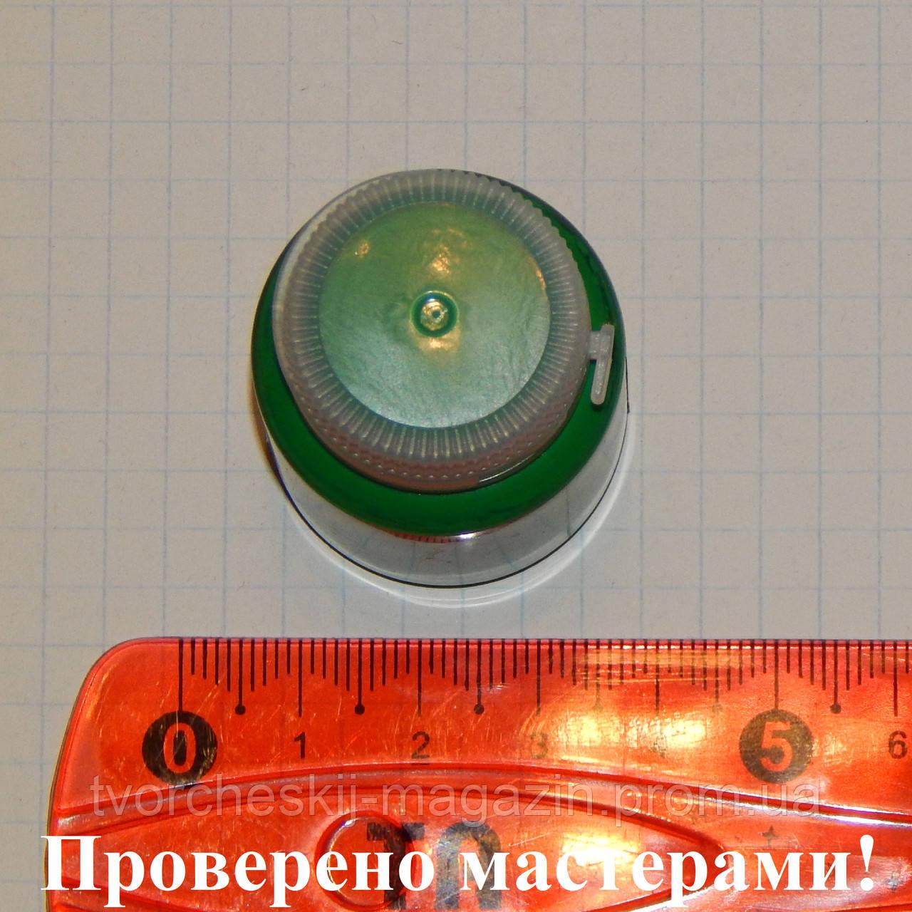 """Краска акриловая матовая художественная """"Solo Goya"""" Triton 20мл, Зеленый"""