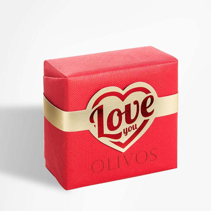 Оливковое натуральное мыло Olivos Love You .150г