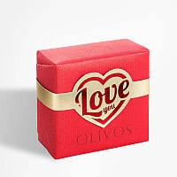Оливковое натуральное мыло Olivos Love You .150г, фото 1