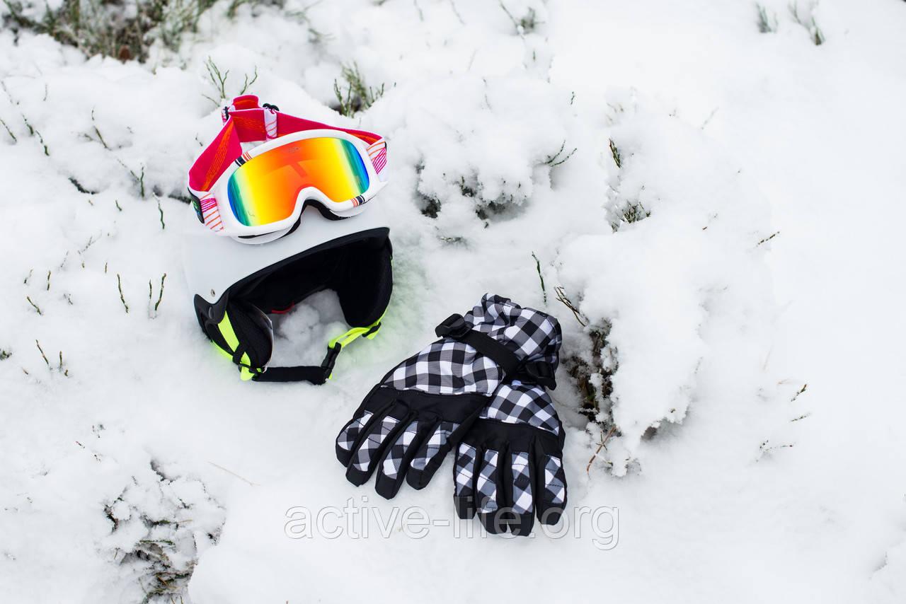 Рукавиці гірськолижні теплі (р-р L-XL), фото 1