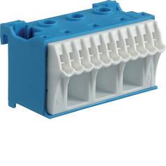 Блок N-клем, кількість одиниць поділок - 2; ширина - 60 мм. 3х16 мм + 11х4 мм