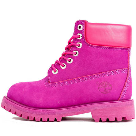 e6ab2348fe9 С Дефектом! Ботинки женские Timberland Classic Boots (розовые) на МЕХУ! Top  replic