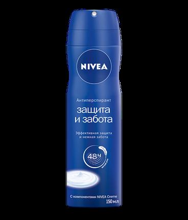 Женский дезодорант - спрей Nivea Защита и забота, фото 2