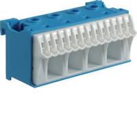 Блок N-клемм, кол-во единиц деления - 2,5; ширина - 60 мм. 4х16 мм + 14х4 мм