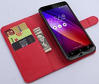 Чехол-книжка Litchie Wallet для Asus Zenfone 3 (ZE520KL) Красный