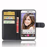 Чехол-книжка Litchie Wallet для Asus Zenfone Live ZB501KL Черный