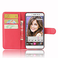 Чехол-книжка Litchie Wallet для Asus Zenfone Live ZB501KL Красный