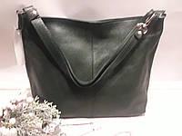c77ed8441fad Женская кожаная зеленая сумка на длином ремешке через плече на два отделения  на молнии, цена 1 122 грн., купить в Хмельницком — Prom.ua (ID#847229907)