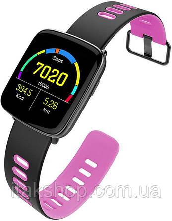 Смарт умные часы King Wear GV68 Pink, фото 2