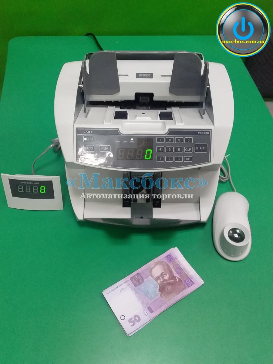 Счетчик для денег, банкнот профессиональный – PRO 87 U
