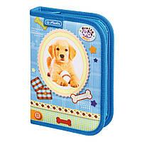 Пенал с наполнением 19 предметов Herlitz Pretty Pets Dog (8229270D)