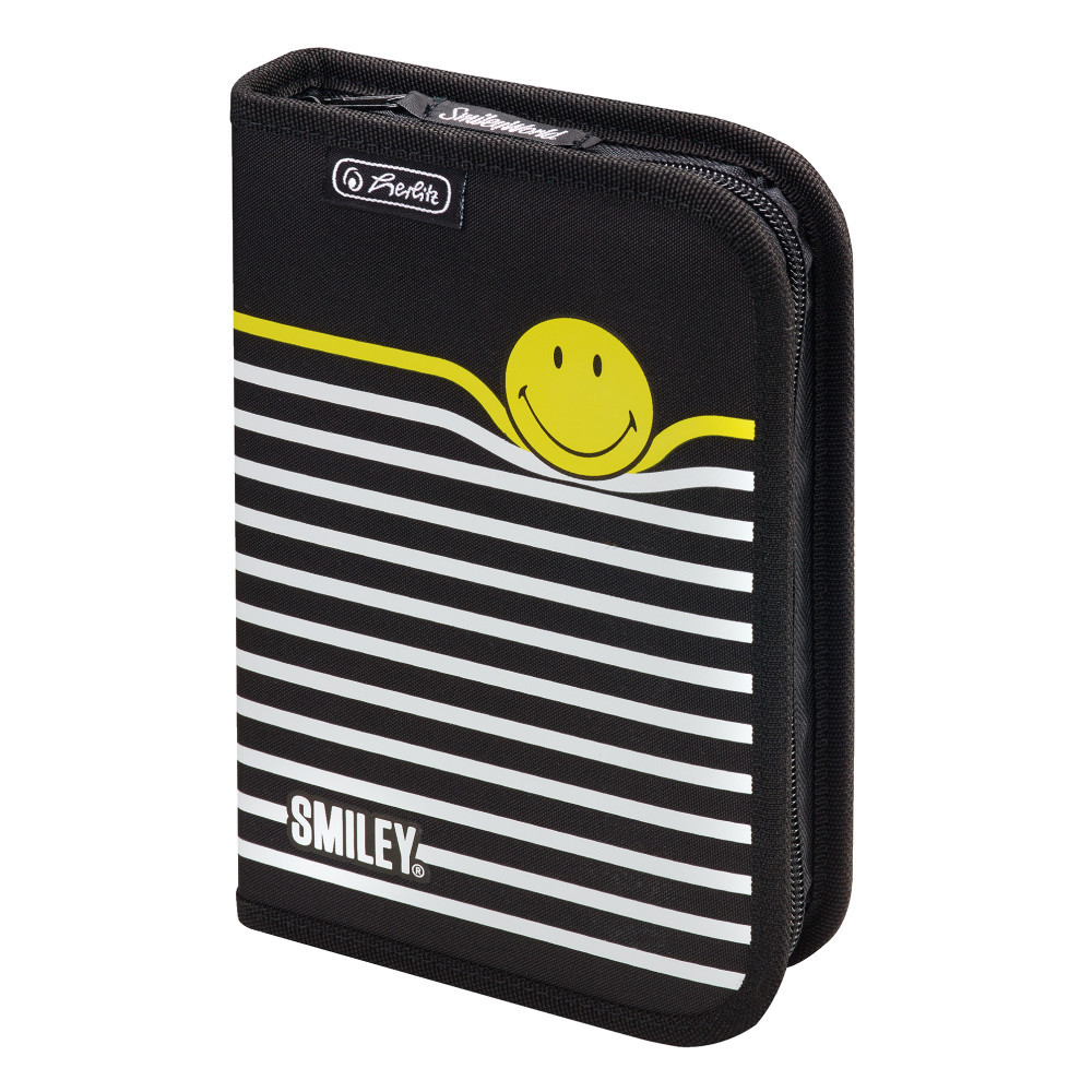 Пенал пустой Herlitz Standard Smileyworld Stripes (50015405)