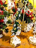 Новогодняя ёлка 2019 игрушка-сувенир, Новогодний декор Happy New Year и Merry Christmas, фото 4