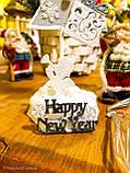 Новогодняя ёлка 2019 игрушка-сувенир, Новогодний декор Happy New Year и Merry Christmas, фото 6