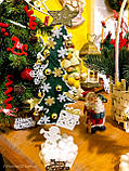 Новогодняя ёлка 2019 игрушка-сувенир, Новогодний декор Happy New Year и Merry Christmas, фото 2
