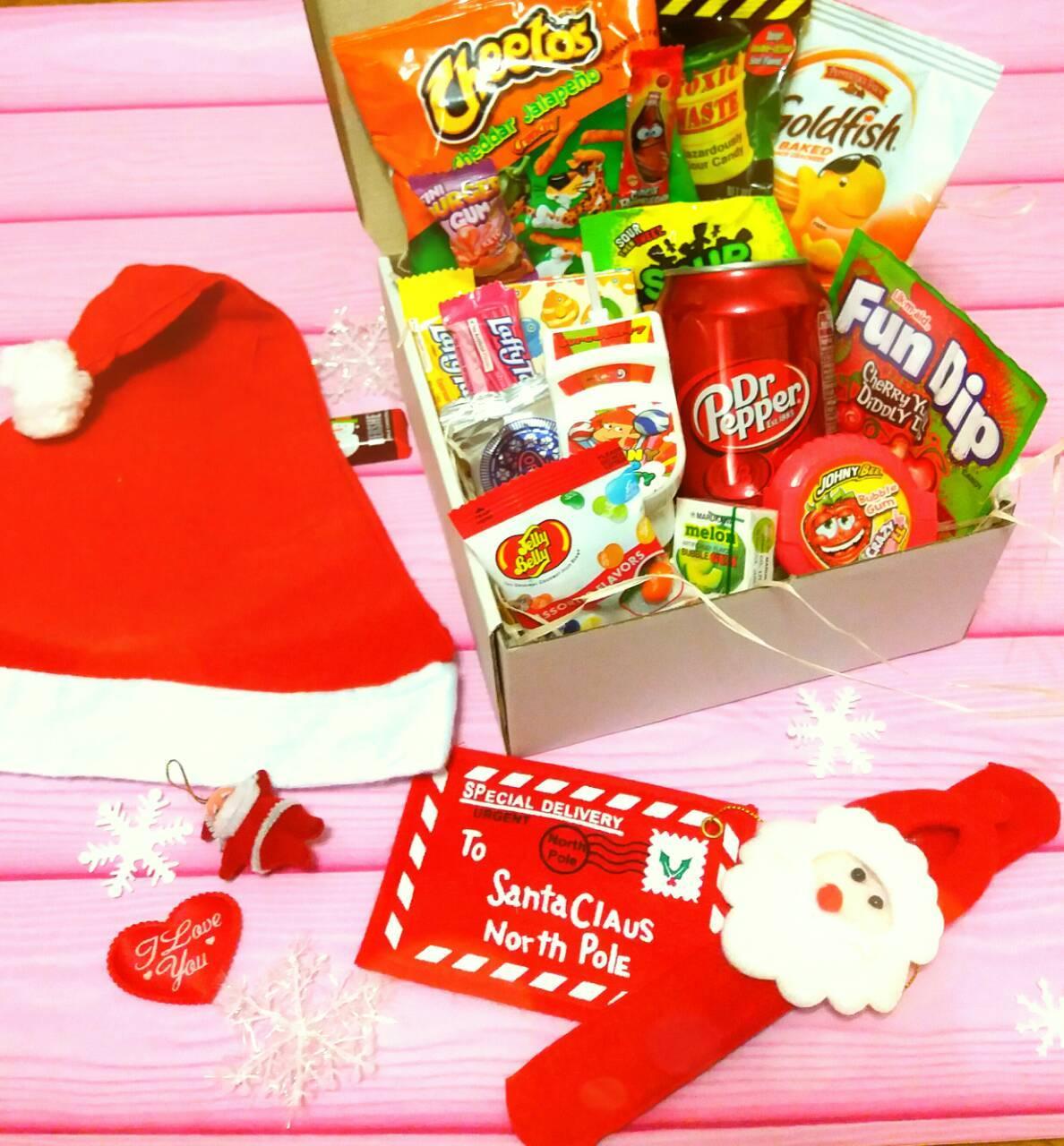 Подарочный набор сладостей США конфеты и подарки
