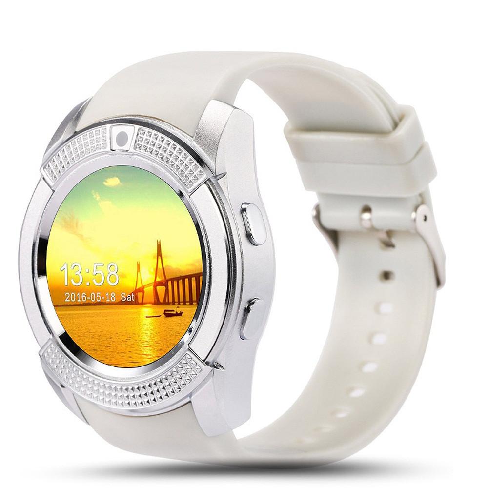 Розумні годинник Smart Watch V8 білі Оригінал