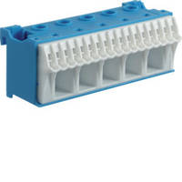 Блок N-клемм, кол-во единиц деления - 3; ширина - 90 мм. 6х16 мм + 20х4 мм