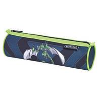 Пенал Herlitz Round Robo Dragon Green (50014545R)