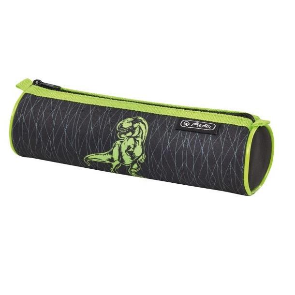 Пенал Herlitz Round Dino Green (50014552D)