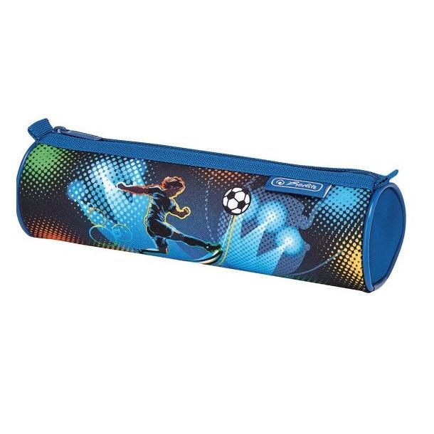 Пенал Herlitz Round Soccer (50014552S)