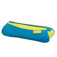 Пенал Herlitz My.Case Triangular Sport Citrus желто-голубой (10312692SL)