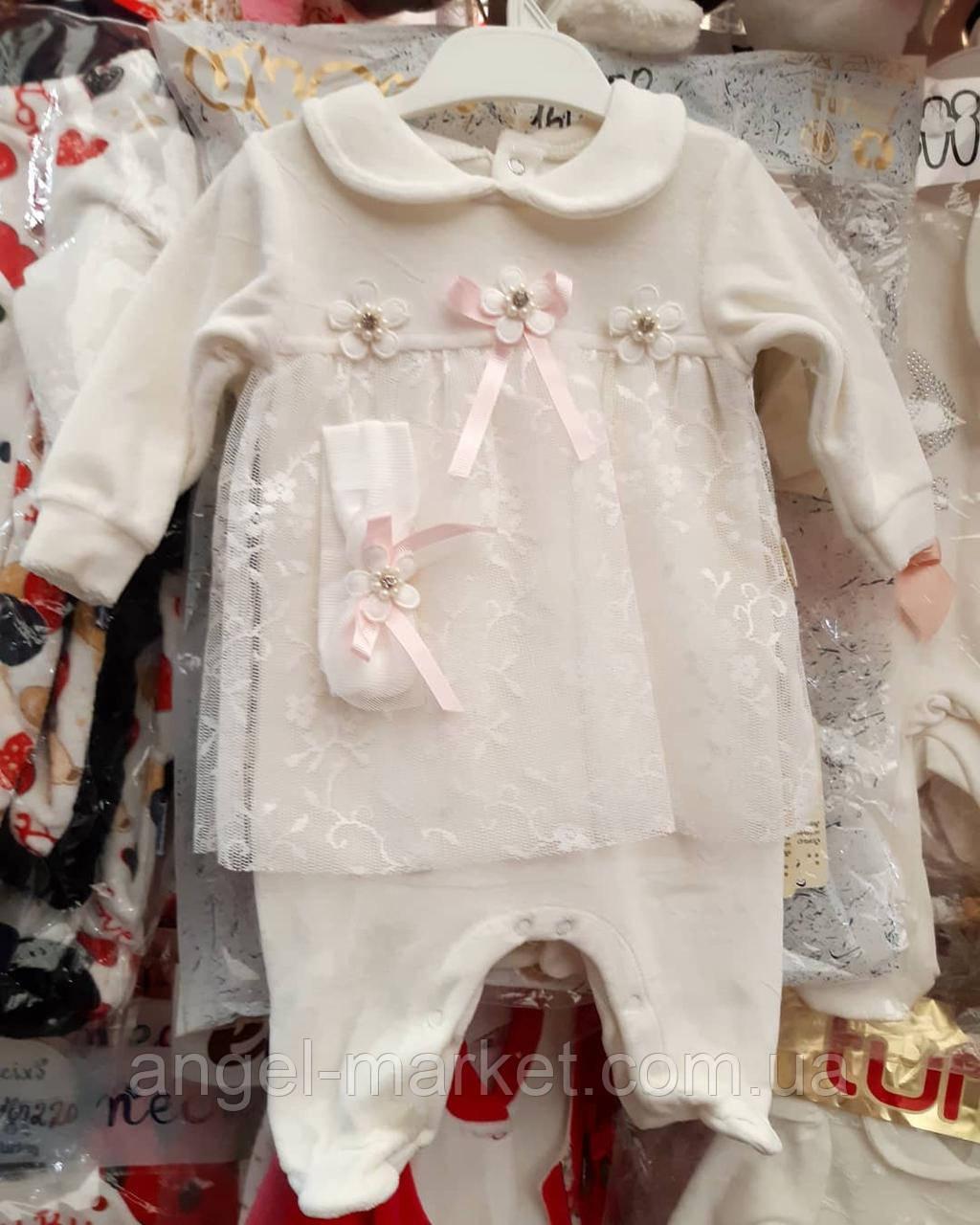 Платье для девочки 6 месяцев