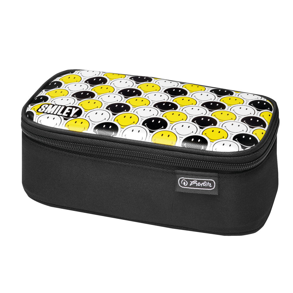Пенал Herlitz Be.Bag BEAT Smileyworld Black & Yellow (50015283)