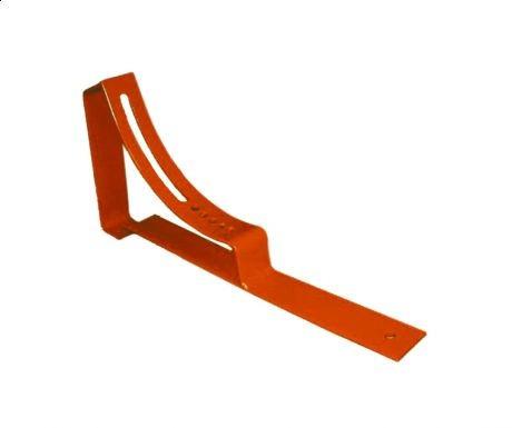 Крепление скамьи трубочиста для металлочерепицы стальное
