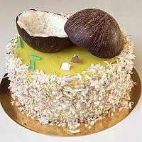Веганский кокосово-лимонный торт, фото 1