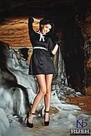 Милое женское платье с бантиком