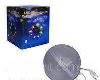 Светящийся шар Теслы большой LED ceiling colourful star light