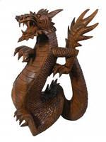 Дракон деревянный