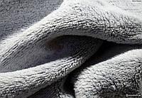 Плед покрывало одеяло серый новый флис ив роше очень мягкий
