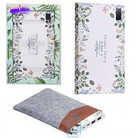 Power Bank Hoco B33 Flower Story 20000 mAh Original White Curd Flower