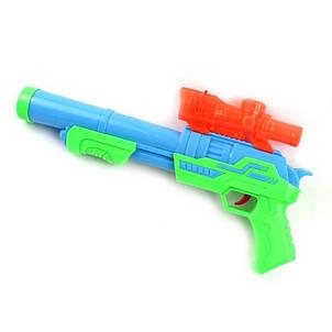 Детский пистолет бластер Super Shooting с мягкими и гелевыми пулями, фото 2