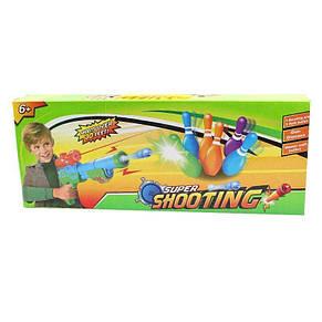 Детский пистолет бластер Super Shooting с мягкими и гелевыми пулями, фото 3