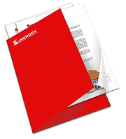 Печать  папок корпоративных, фирменные папка А4