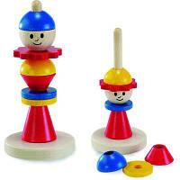 Розвиваюча іграшка nic деревянная Сборный человечек (NIC2301) від 2 років, дрібна моторика, колірне