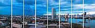 Модульная картина гигант Декор Карпаты 390х115 см (m8-675)