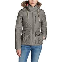 Куртка Eddie Bauer Womens Yukon Classic Down Jacket S Серый 9584SAN, КОД: 304913