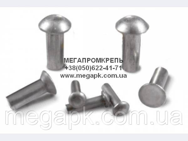 Заклёпка алюминиевая с полукруглой головкой ГОСТ 10299-80