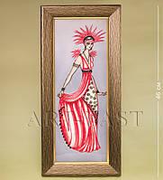 Фарфоровая настенная картина Дама (Pavone)
