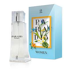 Парфюмированная вода для женщин LAMBRE Paradis Women 75 мл LAM-112061, КОД: 155797