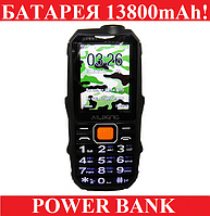 Ailixing S888 батарея 13800 mAh +Power Bank бюджетный защищенный противоударный громкий телефон бабушкофон!